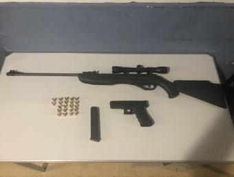 Confidencia lleva a arresto de sujeto por armas en Gurabo