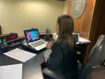 Tribunal atiende asuntos urgentes mediante videoconferencia para evitar contagios por COVID-19