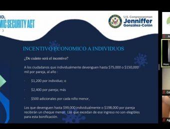 Jenniffer González, SBA y Vivienda aclaran dudas a organizaciones sin fines de lucro sobre ayudas durante la emergencia del COVID-19