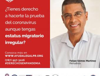 Anuncian campaña para orientar a inmigrantres sobre derechos ante pandemia