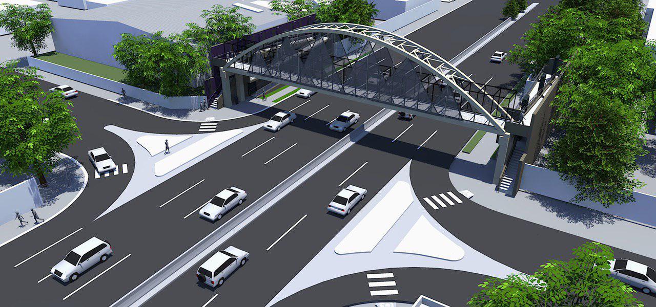 Anuncian construcción de puente peatonal sobre el expreso de Trujillo Alto y distribuye material de protección