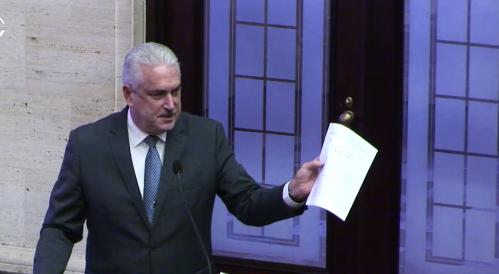 Senado da espacio a la Cámara para atender nombramiento de Contralor