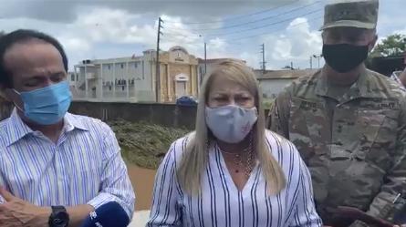 Insatisfecha gobernadora con labor de José Ortiz frente a la AEE tras paso de Isaías