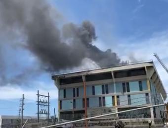 Incendio en edificio en Río Piedras (Ampliación)