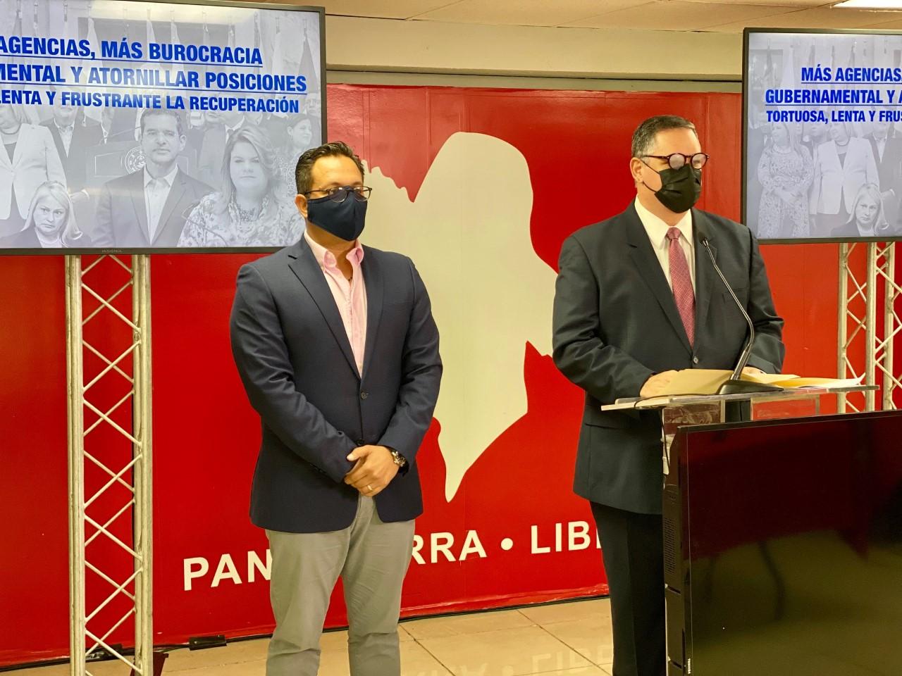 Catalogan como irresponsable la intención del PNP de crear una nueva agencia para administrar los fondos de recuperación con nombramientos atornillados a diez años