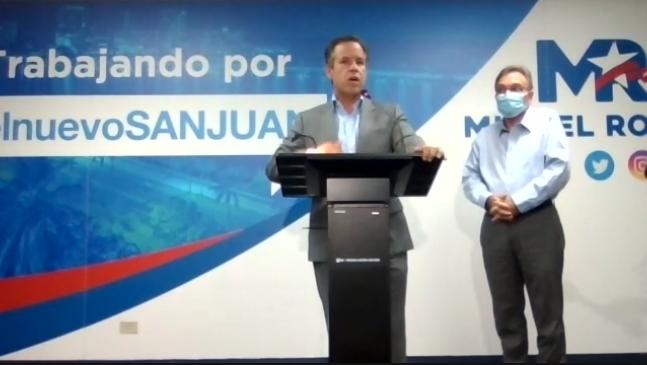 Presidente de Transición de Miguel Romero detalla componente de Transición de Miguel Romero (Documento)