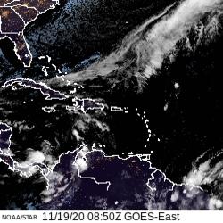 Resumen del estado del tiempo para Puerto Rico en la mañana del jueves, 19 de noviembre de 2020