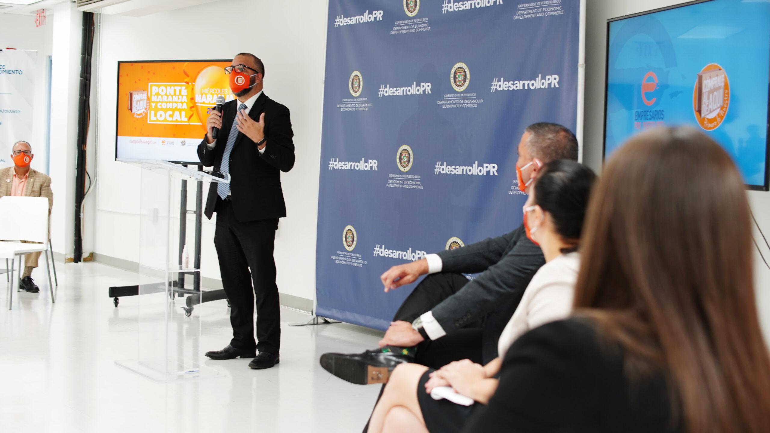 DDEC se une a iniciativa Miércoles Naranja para impulsar ventas de PyMes