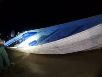 Interceptan una yola con 14 personas en la costa de Rincón