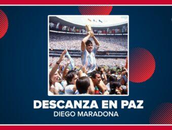"""""""El fútbol mundial está de luto con la muerte de Maradona"""""""