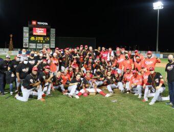 Los Criollos de Caguas se coronan campeones del torneo de béisbol invernal