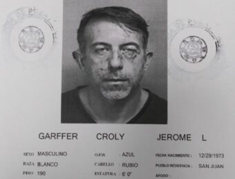 Bajo arresto Jerome Garffer por supuesta violación a orden de protección