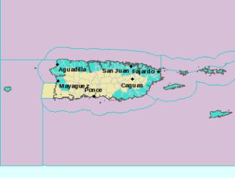 Sigue alto el riesgo de corrientes marinas en las costas de Puerto Rico este lunes, 1ro de marzo de 2021