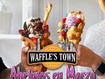 Llega a Puerto Rico Waffle's Town generando decenas de puestos de trabajo (Actualizado)