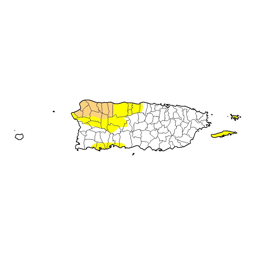 Se reduce el nivel de sequía en Puerto Rico
