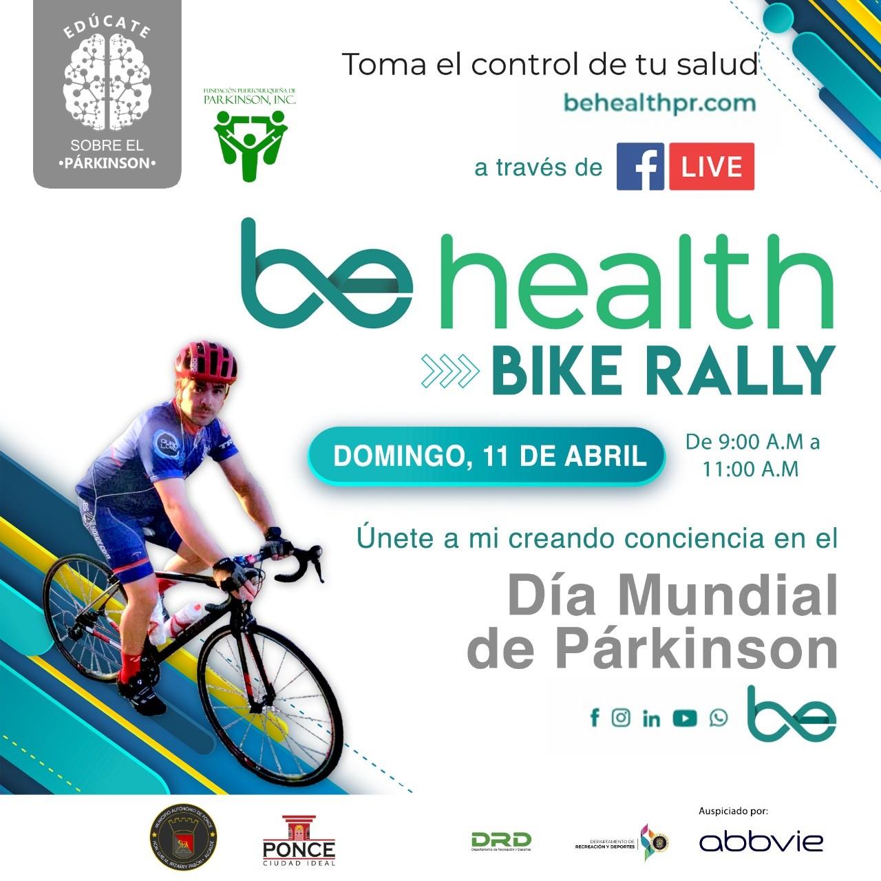 A pedalear para concientizar sobre el párkinson en Ponce