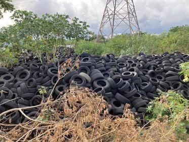 Cámara de Representantes aprueba medida para investigar manejo de neumáticos desechados
