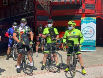 Exitosa rodada en el BeHealth Bike Rally por el Día Internacional del Párkinson