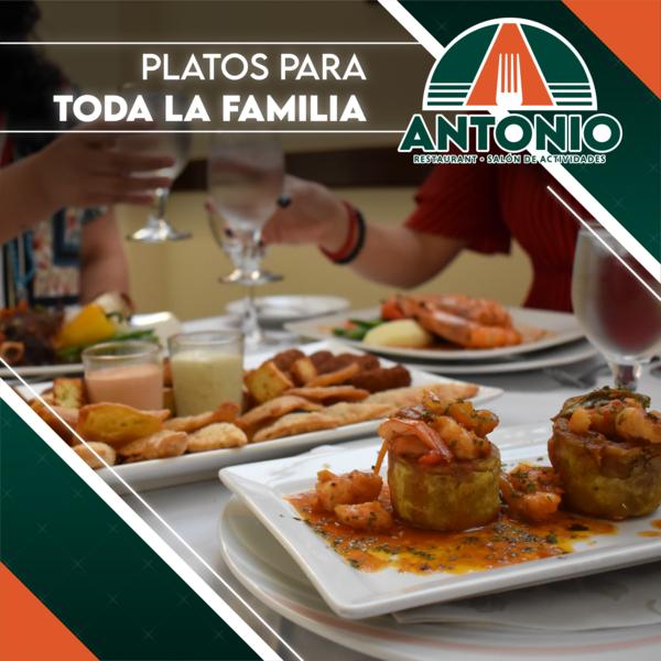 """Restaurant Antonio: """"Porque un momento único merece un lugar especial"""""""
