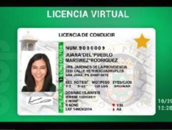 Secretaria DTOP recuerda que, por virtud de ley, la Licencia Virtual es un documento de identificación legítimo y válido para propósitos de identificación oficial