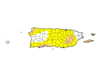 Aumento significativo en el nivel de sequía en Puerto Rico