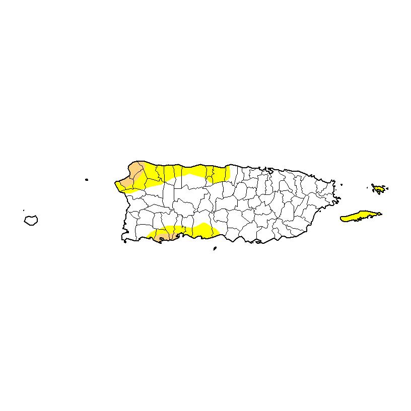 Baja el área bajo sequía en Puerto Rico y aumenta el nivel de los embalses