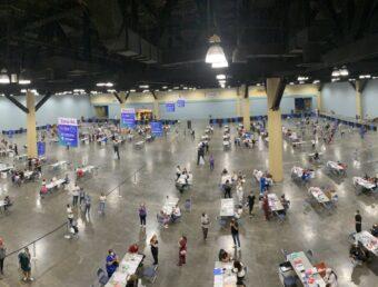 Sobre 10,600 personas fueron vacunadas en el Super VacuTour