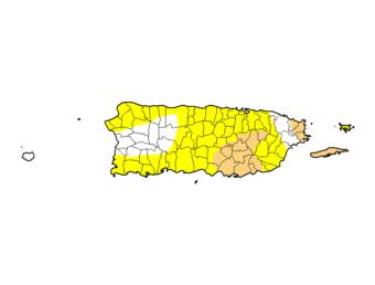 Aumenta el nivel de sequía en Puerto Rico