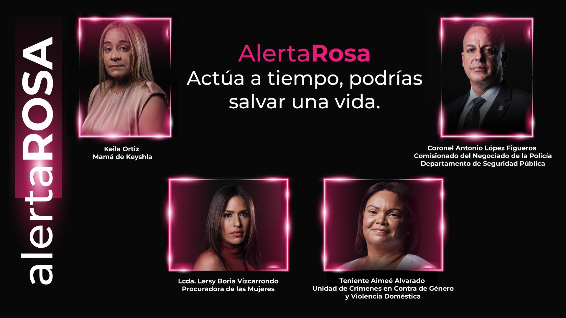 Inicia campaña de orientación sobre la alerta rosa