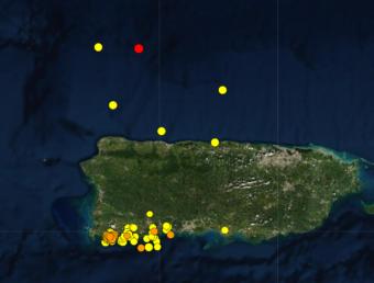Red Sísmica reporta un temblor de magnitud 3.9 al norte de Hatillo (Ampliación)