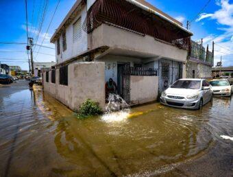 Aviso de inundaciones para el noroeste de la Isla