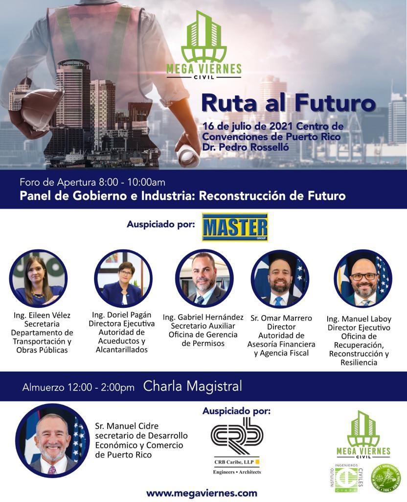 El Mega Viernes Civil 2021 regresa con la más amplia oferta educativa para ingenieros civiles y profesionales de la industria