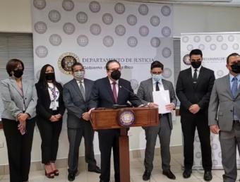 Justicia y Hacienda radican cargos criminales contra evasor contributivo reincidente