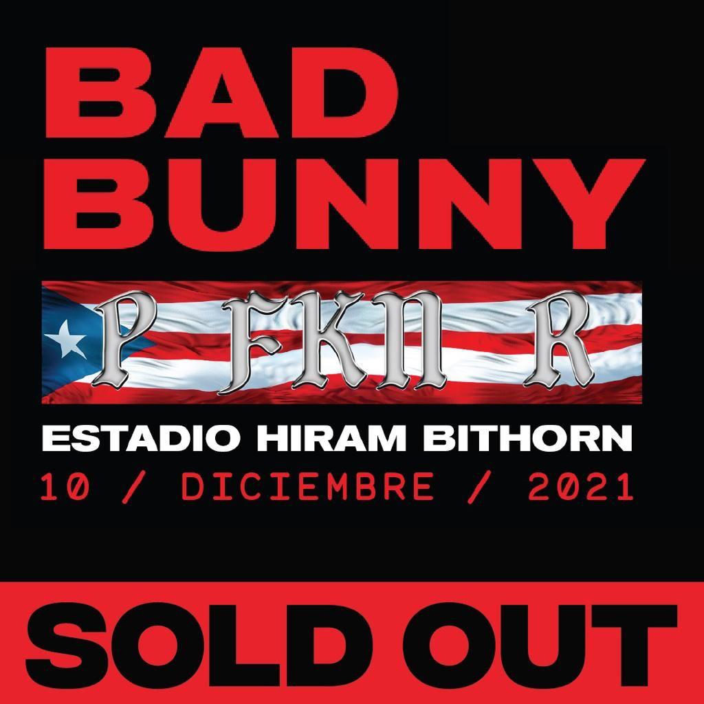 Bad Bunny agota boletos para su concierto en el Estadio Hiram Bithorn, miles se quedaron esperando