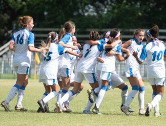 Segunda victoria para el onceno femenino Sub-14 al imponerse 3-1 ante Jamaica