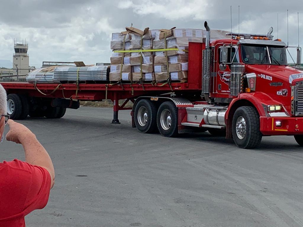 Cáritas de Puerto Rico envía 685 carpas a Haití