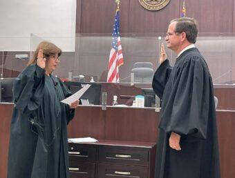 Raúl Arias-Marxuach juramenta como juez presidente del Tribunal federal en Puerto Rico